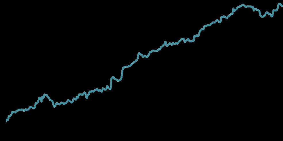 Grafico de rentabilidade do Portfolio Starter Plus